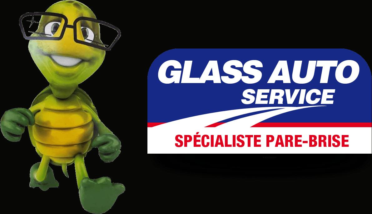 Garage Logo Glass Auto Service Pare-brise